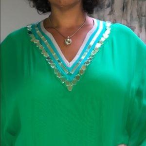 Catherine Malandrino Dresses - Catherine Melandrino Green Dress - Sz XL